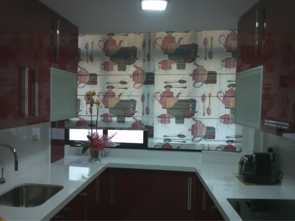 Instalaci n y venta de cortinas en almu ecar motril - Decoracion cortinas y estores ...